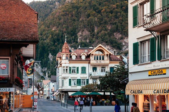 Interlaken City plus Harder Mountain (Top of Interlaken) Private Tour from Bern, Berna, SUIZA