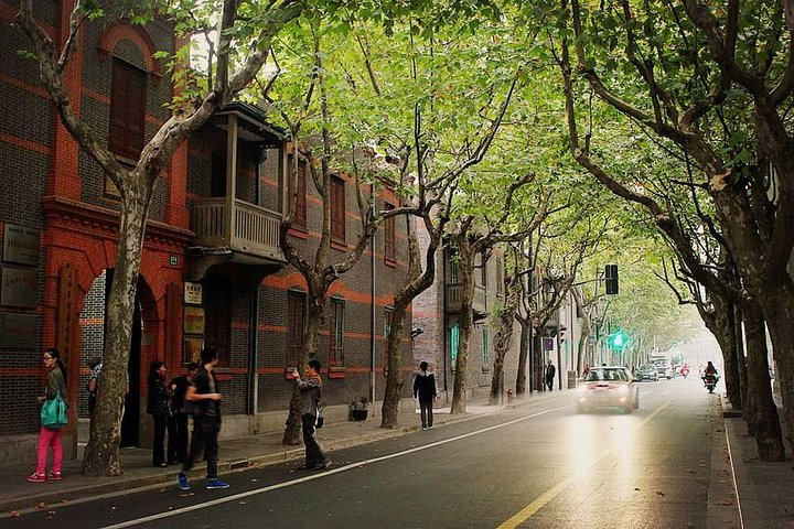 Private Walking Tour in the Former French Concession, Shanghai, CHINA