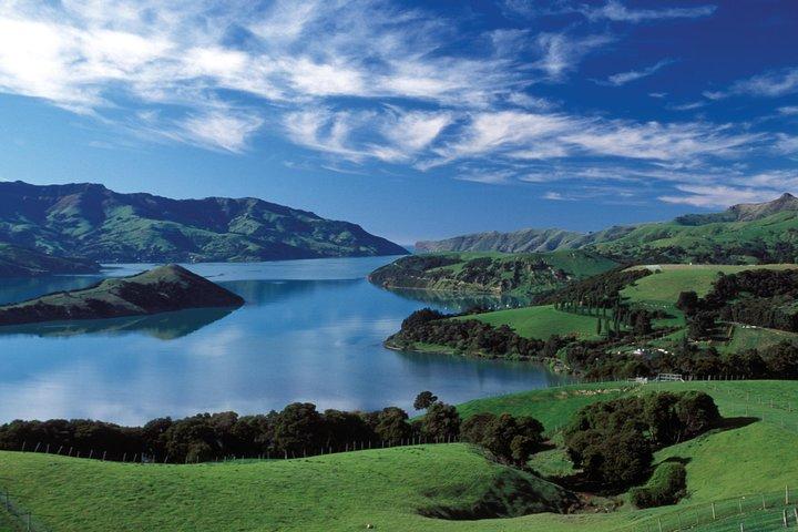 Akaroa Shore Excursion: Banks Peninsula, Christchurch City Tour and Willowbank Wildlife Reserve, Akaroa, NUEVA ZELANDIA