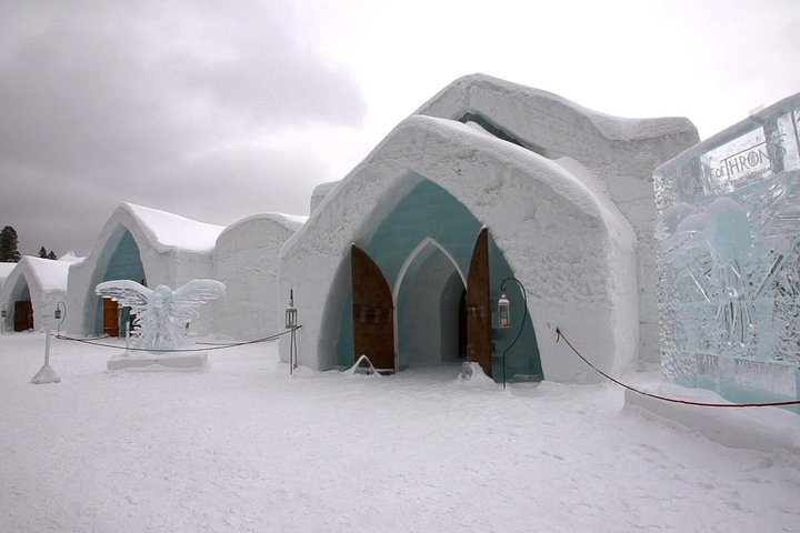 From Quebec city: Ice Hotel Visit and Transportation, Quebec, CANADA