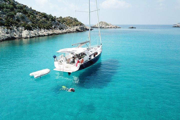Private Kekova Sailing Day Tours from Kas Marina, Kas, TURQUIA