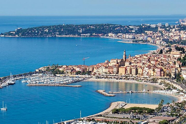 French Riviera Full or Half Day Private Tour with a Qualified Guide Driver, Niza, França