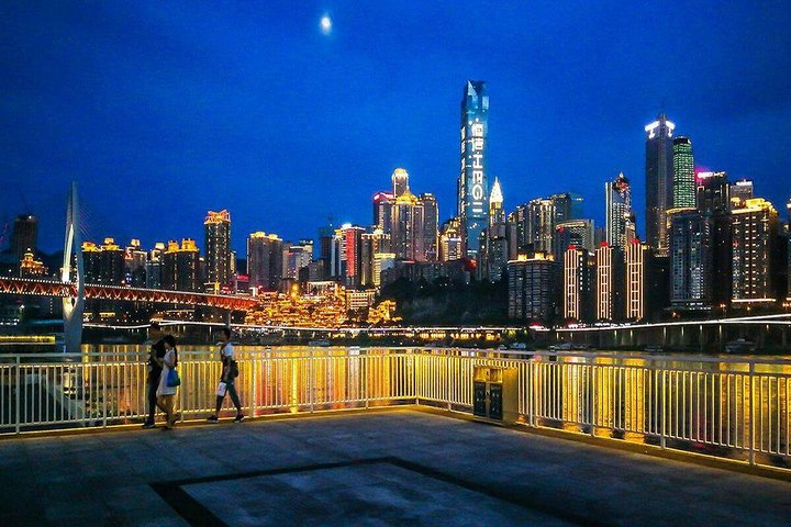 250 USD Per Group Private Chongqing Night Tour with Hot-pot Dinner, Chongqing, CHINA