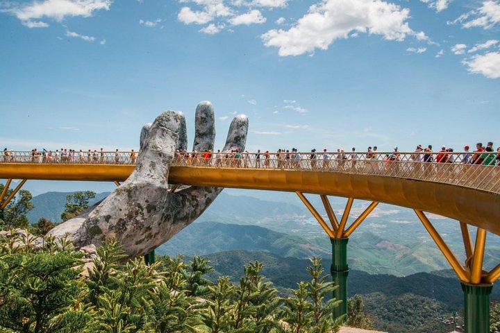 Golden Bridge & Ba Na Hills 1 Day Trip, Hoi An, VIETNAM
