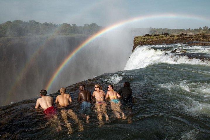 Devil's Pool, Livingstone, ZIMBABUE