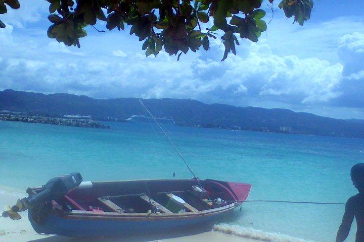 Negril seven Miles Beach & Rick's Cafe Sun Set: with Open Bar Catamaran, Montego Bay, JAMAICA