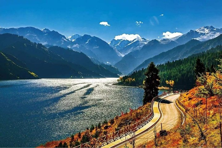 Private Day Trip to Heavenly Lake from Urumqi with Boat Cruise Option, Urumchi, CHINA