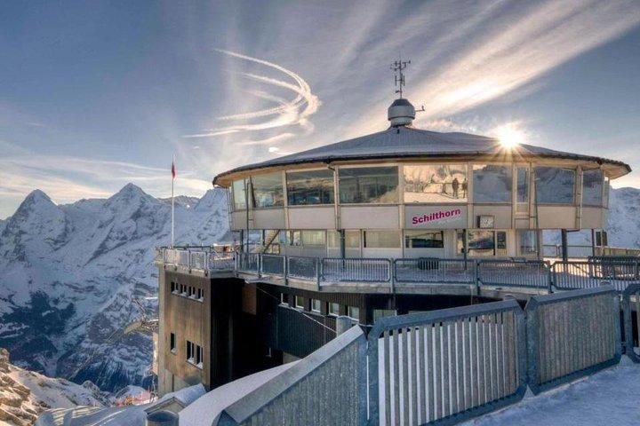 Schilthorn Piz Gloria (James Bond Location) Private Tour from Interlaken, Interlaken, Suíça