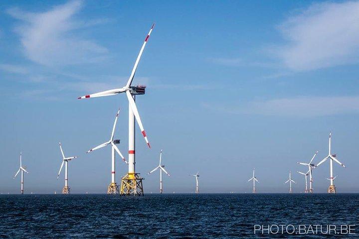 Onvergetelijke zeetocht naar de windmolenparken op de Noordzee, Gante, BELGICA
