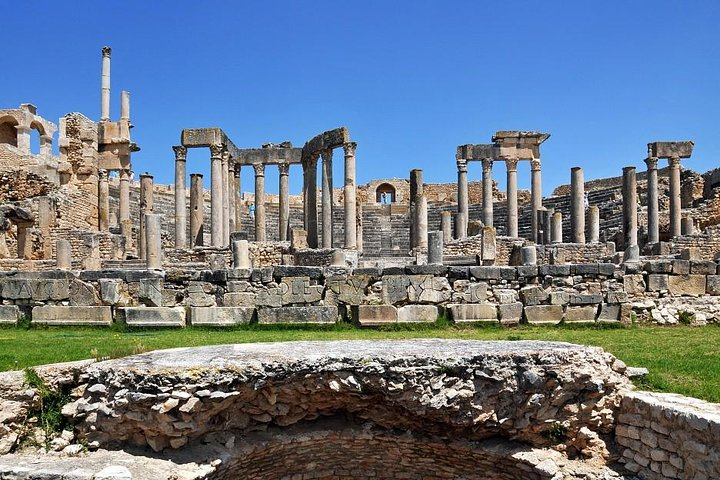 Dougga and Bulla Regia Small-Group Tour from Tunis w/ Lunch, Tunez, Tunísia