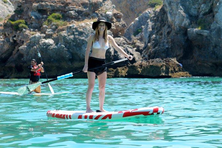 Lisbon Stand Up Paddle tour to Arrábida beaches - All inclusive, Lisboa, PORTUGAL