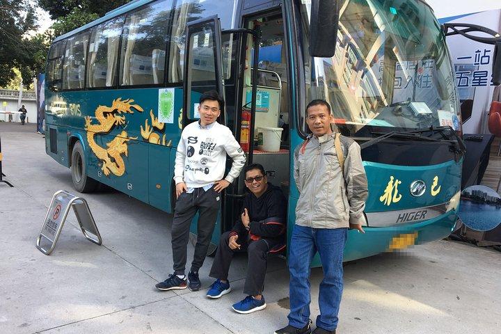 Shenzhen Bus Travel experiences, Shenzhen, CHINA
