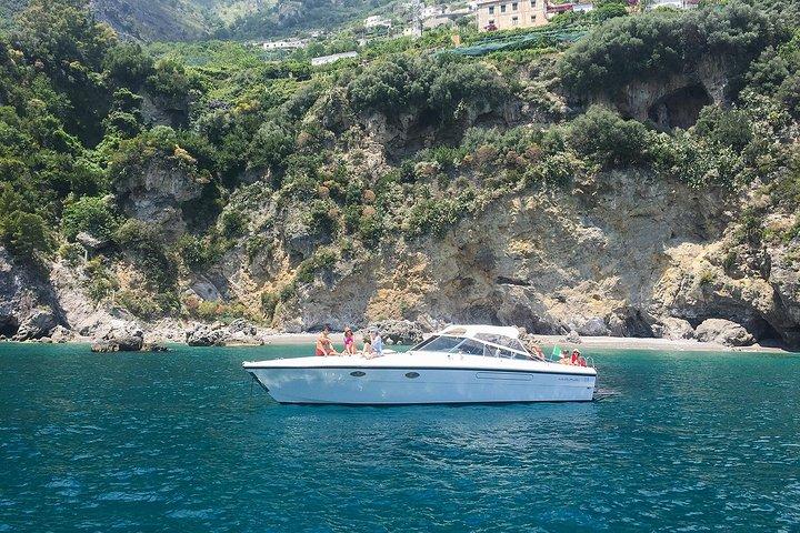 Amalfi Coast Private Boat Excursion from Positano, Praiano, Amalfi, Minori or Maiori, Amalfi, ITALY
