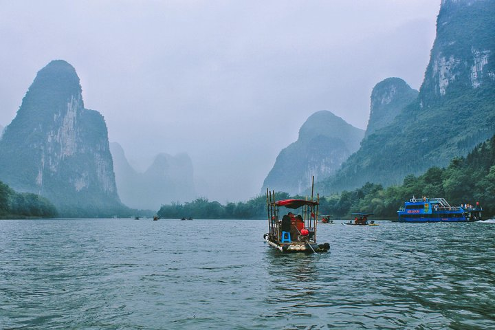Bus Group Day Tour: Best Value Li River Cruise, Guilin, CHINA