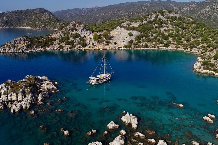 Shared Kekova and Sunken City Tour From Kas Harbor with Lunch, Kas, TURQUIA