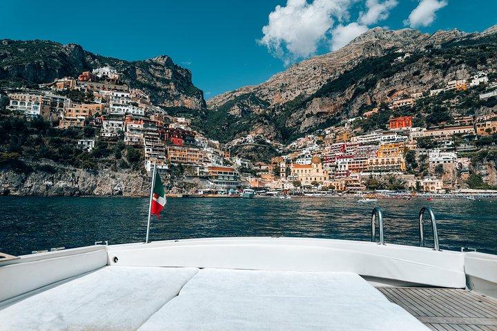 Amalfi Coast Full Day Private Boat Excursion from Praiano, Amalfi, ITALIA