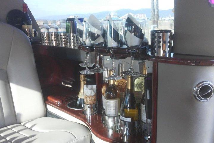 5-Hour Limo Tour with Open Bar, Santa Monica, CA, ESTADOS UNIDOS