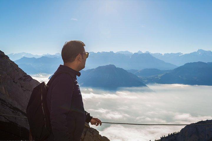 Mt Pilatus Ultimate Adventure Tour with Hiking, Rope park and Alpine Toboggan, Lucerna, Switzerland