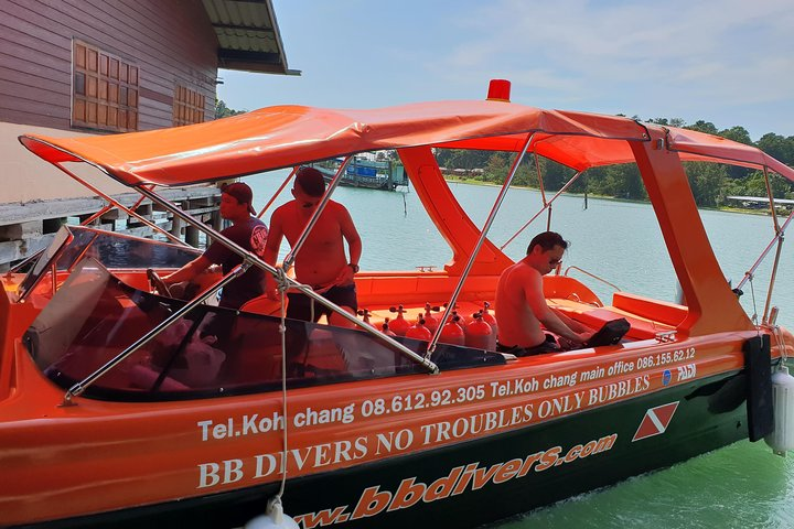 Private Speedboat Trip, Snorkeling and Island-Hopping Around Koh Chang, Ko Chang, Thailand