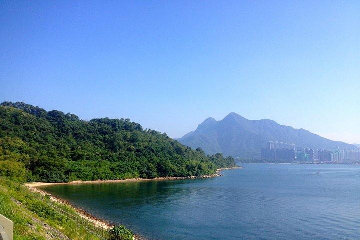 Plover Cove Bicycling and Hiking Waterfall Adventure, Hong Kong, CHINA