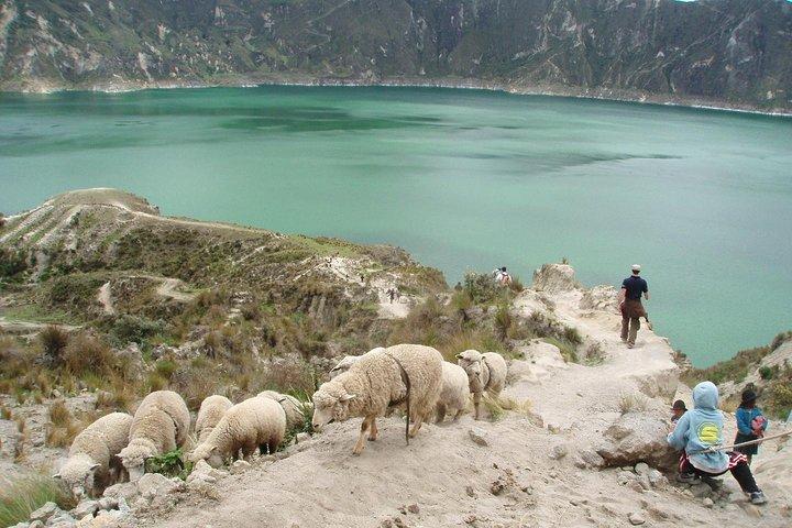 Quilotoa Lagoon,Volcanoes Avenue, Local People Full-Day Tour from Quito, Quito, ECUADOR