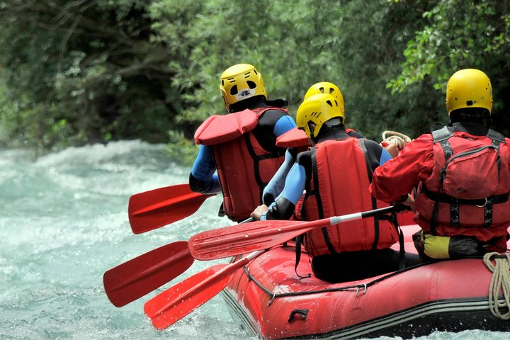 2 in 1: White Water Rafting and Canyoning Adventure, Side, TURQUIA