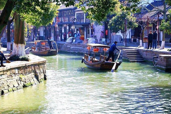 Private Zhujiajiao Water Town Boating Tour with Fruit Picking, Shanghai, CHINA