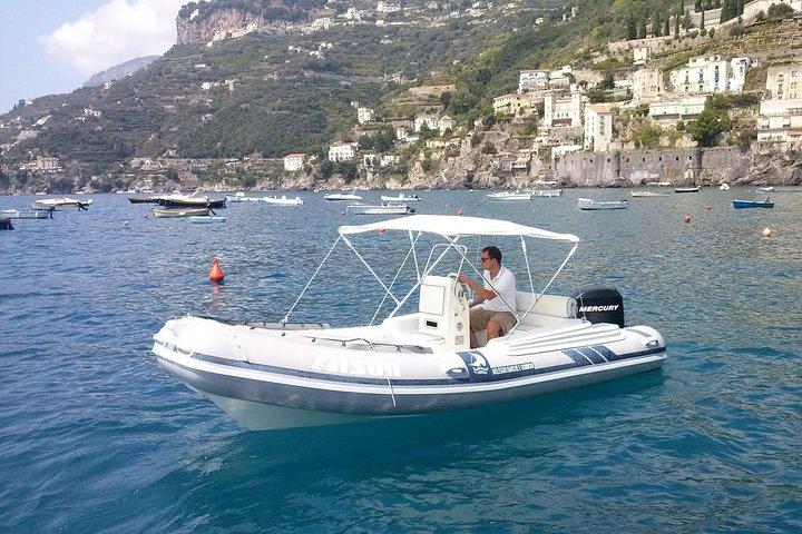 Amalfi Coast Self-Drive Boat Rental, Amalfi, ITALY