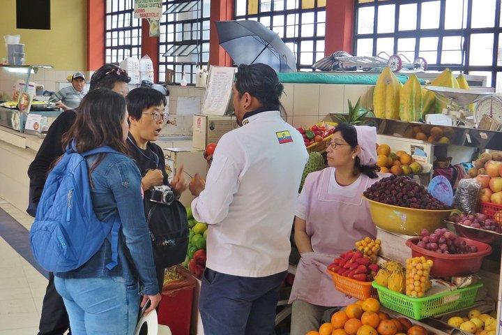Clase de cocina ecuatoriana en Quito + Visita al mercado local y degustación de frutas exóticas, Quito, ECUADOR