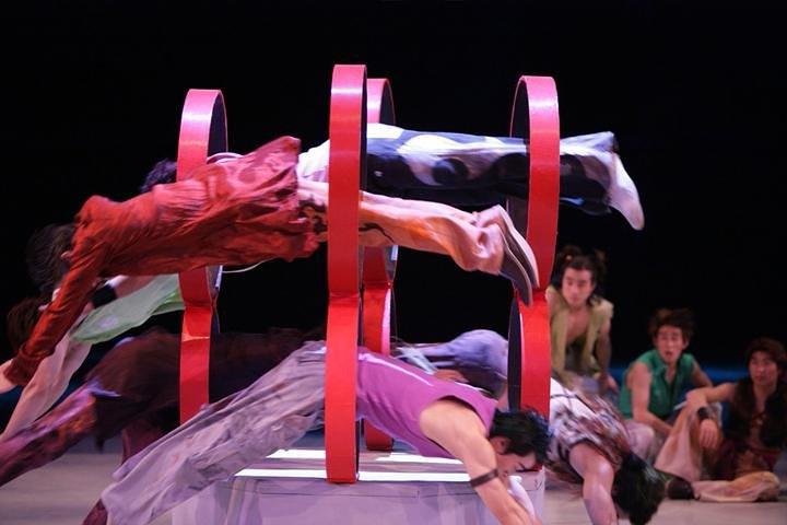 Shanghai Circus World: ERA Intersection of Time Acrobatics Show, Shanghai, CHINA