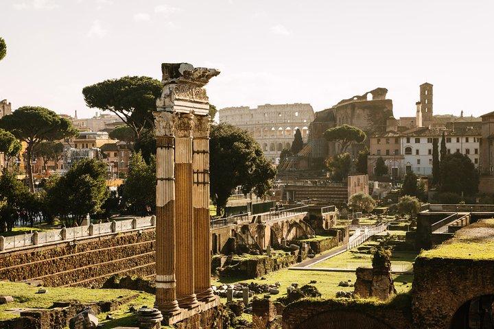 from Civitavecchia: Skip the line Colosseum and Ancient Roman forum, Lago Bracciano, Itália