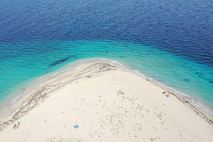 Cruise to turtle's island and caves with a glass bottom boat, Zante, GRECIA