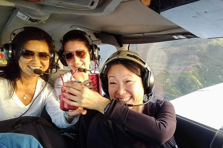 Romantic Sunset Champagne -Private- Maui Air Tour: Intimate & Spectacular!, Maui, HI, UNITED STATES