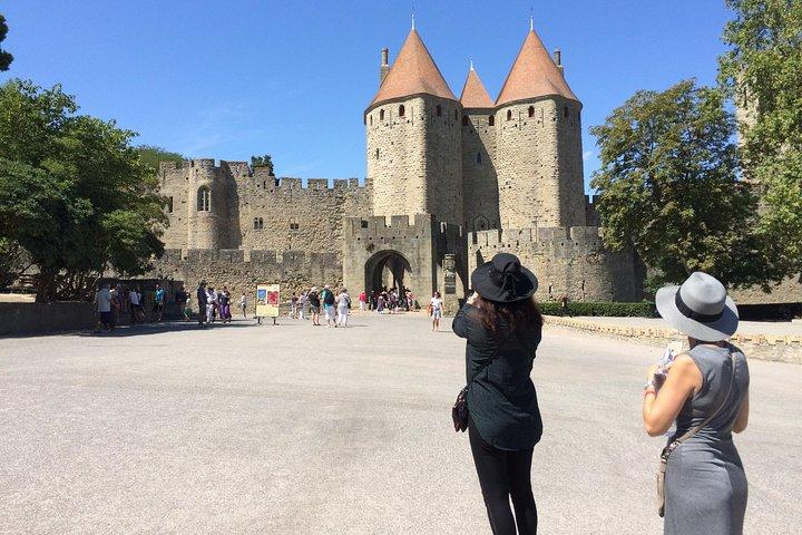 Cité de Carcassonne Guided Walking tour. Private tour., Carcasona, FRANCIA