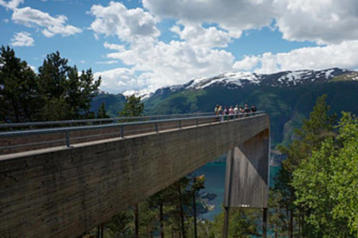 Flam: The Spectacular Stegastein Viewpoint Tour, Skjolden, NORUEGA