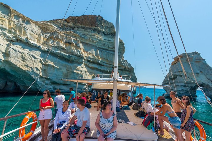 Boat tour to Kleftiko from Milos, Milos, Greece