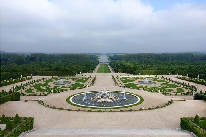 Evite las colas Palacio de Versalles y los jardines desde el centro de París, Paris, FRANCIA