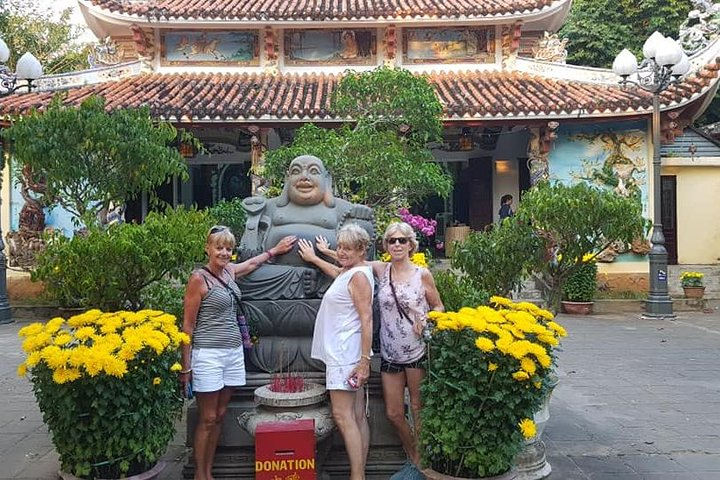 Da Nang city Tour with Marble Mountain, Lady Buddha Statue, Dragon Bridge, Da Nang, VIETNAM
