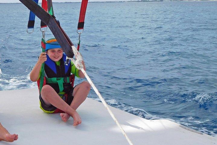 Four Adventures: Parasailing, Snorkeling Cruise, Sharks & Rays At Punta Cana, ,