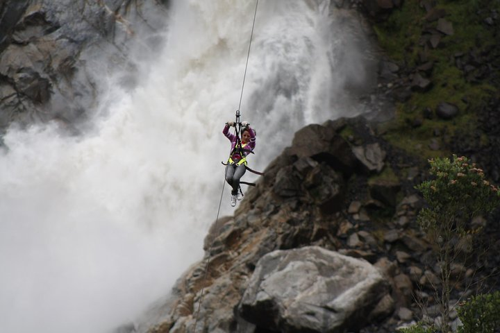 Canopy, Puente Tibetano, Vía Ferrata Y Tarabita 4 En 1 - En Un Dia, Baños, ECUADOR