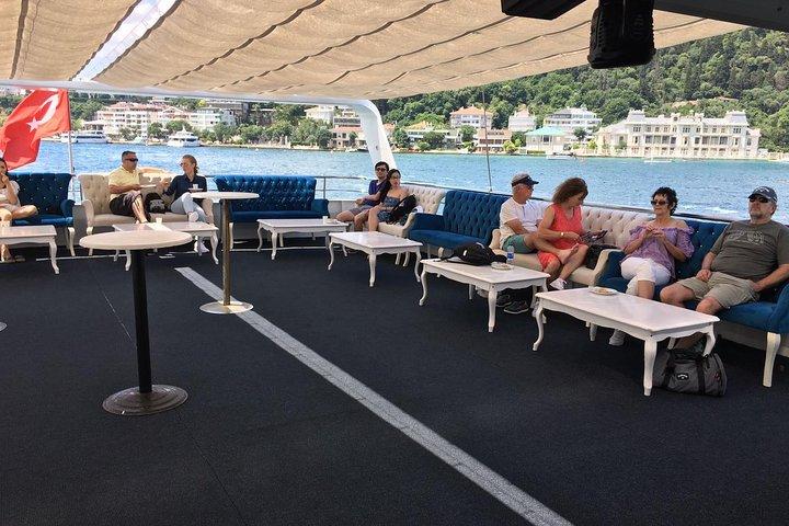 Bosphorus Strait and Black Sea Day Cruise, saindo de Stambul, Istambul, TURQUIA