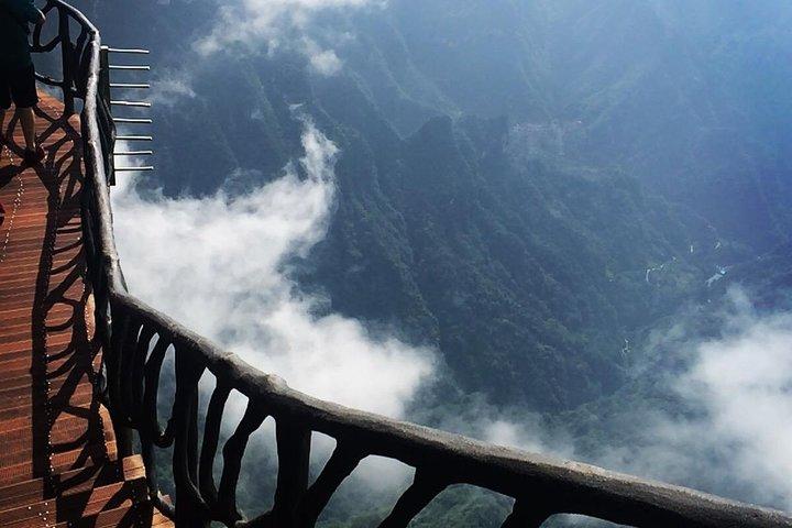 Full-Day Private Tour of Tianmen Mountain With the Skywalk, Zhangjiajie, CHINA