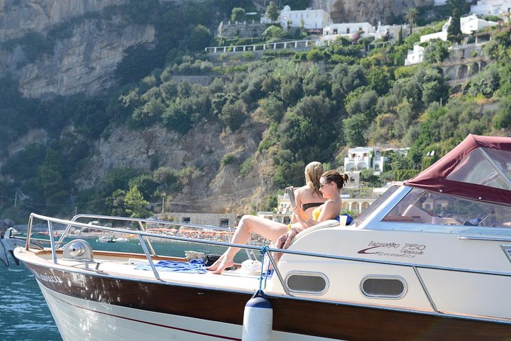Capri Private Boat Tour from Sorrento, Positano or Naples - Gozzo Jeranto 750, ,