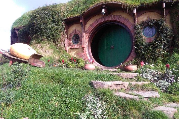 Hobbiton, Rotorua and Waitomo Caves Day Trip in Luxury Minibus from Auckland, Auckland, New Zealand