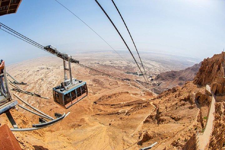 Masada and the Dead Sea Day Trip from Jerusalem, Jerusalen, ISRAEL