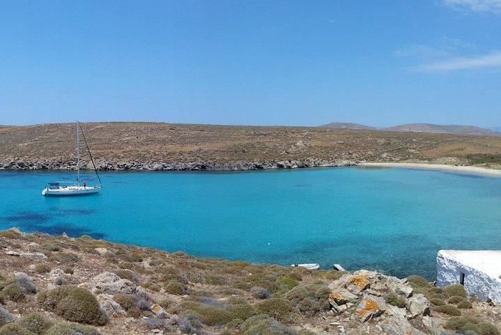 Miconos: crucero en yate para grupos pequeños a Rhenia y visita guiada a la isla de Delos, Miconos, GRECIA