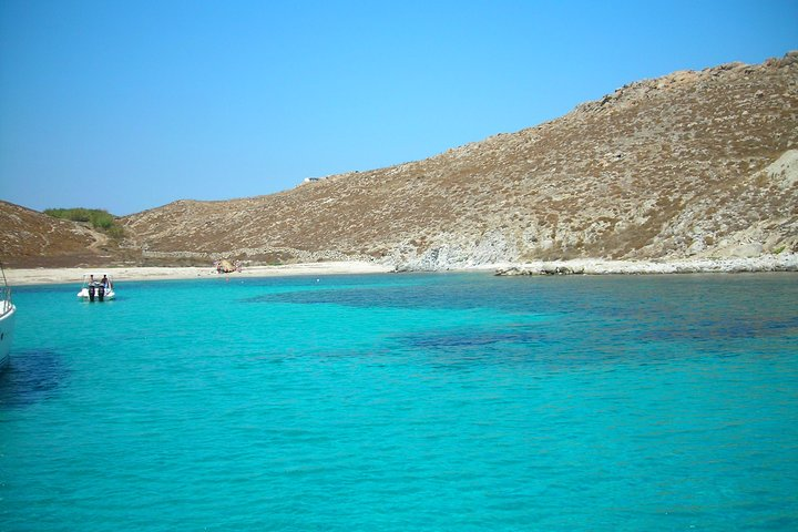 All Included Mykonos South-Coast Beaches, Rhenia and Delos Islands, Miconos, GRECIA