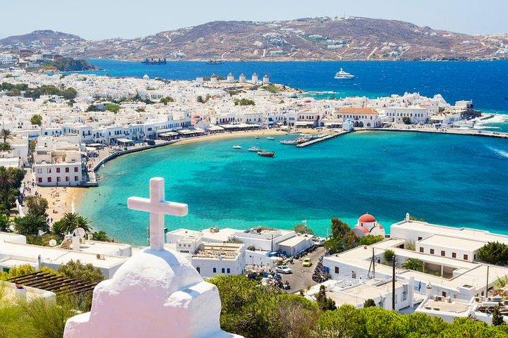 Crucero por la costa sur de Mykonos, Miconos, GRECIA