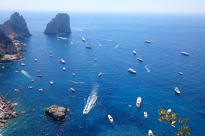 From Naples: Full-Day Capri Island and Blue Grotto Tour, Nápoles, Itália
