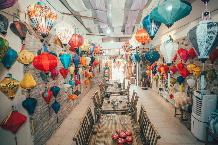 Lantern Making Class, Hoi An, VIETNAM